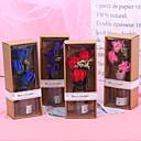 baratos Plantas Artificiais-Flores artificiais 1 Ramo Clássico Clássico Modern Rosas Gipsofila Flor de Mesa