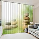 Χαμηλού Κόστους LED Φωτολωρίδες-3d ιδιωτικότητα εκτύπωση δύο πάνελ μελέτη κουρτίνας δωμάτιο / γραφείο / σαλόνι αδιάβροχο σκόνη-απόδειξη διακοσμητικά υψηλής ποιότητας κουρτίνες