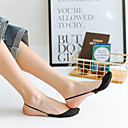 baratos Arandelas de Exterior-2 pares Mulheres Meias Standard Sólido Formação de perna Sensual Misto de Algodão EU36-EU46