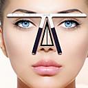 billige Kaffe og te-metall øyenbryn balanse linjal profesjonelt mål øye makeup verktøy