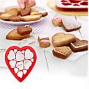 billige Bakeformer-1pc Plast Smuk Multifunktion Kreativ Kjøkken Gadget Til Småkake Multifunktion For kjøkkenutstyr Rund Cake Moulds Pieverktøy Pasta Verktøy Bakeware verktøy