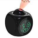 baratos Relógios de Parede-Despertador LED / Digital Plásticos Relógios Automáticos 500 pcs