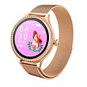 ราคาถูก Smartwatches-M8 ของผู้หญิงนาฬิกา smart watch ip68 กันน้ำเลดี้สมาร์ท h eart rate monitor ติดตามการออกกำลังกายสุขภาพสร้อยข้อมือ