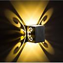 povoljno Zidni svijećnjaci-Kreativan / New Design Jednostavan / LED Unutrašnji / Magazien / Cafenele Aluminij zidna svjetiljka IP44 opći 1 W