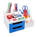 billige Kjøkkenverktøy Tilbehør-Plastikker Kreativ Hjem Organisasjon, 1pc Skrivebordsorganiserere