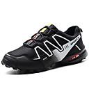 Χαμηλού Κόστους Αντρικά Αθλητικά Παπούτσια-Ανδρικά Παπούτσια άνεσης PU Καλοκαίρι Αθλητικό Αθλητικά Παπούτσια Πεζοπορία Μη ολίσθηση Συνδυασμός Χρωμάτων Γκρίζο / Μαύρο / Άσπρο