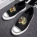 זול נעלי בד ומוקסינים לגברים-בגדי ריקוד גברים נעלי נוחות קנבס קיץ נעליים ללא שרוכים שחור
