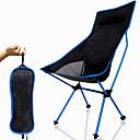 Χαμηλού Κόστους Έπιπλα Κατασκήνωσης-Πτυσσόμενη καρέκλα κάμπινγκ Υψηλή πλάτη με προσκέφαλο Αναπνέει Πολύ Ελαφρύ (UL) Πτυσσόμενο Μικρού μεγέθους Mesh 7075 κράμα αλουμινίου για 1 άτομο Ψάρεμα Πεζοπορία Κατασκήνωση Φθινόπωρο Άνοιξη / Άνετο