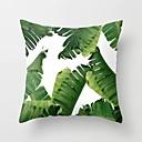 billige Målere og detektorer-tropiske planter pute tilfelle polyester dekorative pute kasser grønne blader kaste pute dekker firkantet 45 * 45cm hjem dekor