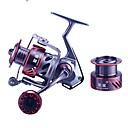 billige Hårtilbehør-Fiskesneller Spinne-hjul 5.21 Gear Forhold+10 Kulelager Hånd Orientering Byttbar Søfisking / Ferskvannsfiskere / Pêche à la carpe