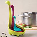 Χαμηλού Κόστους Office Basics-Πλαστική ύλη Εργαλεία Φίλτρα Τρυπητή Κουτάλα Εργαλεία Δημιουργική Κουζίνα Gadget Lovely Εργαλεία κουζίνας Πολυλειτουργία Για μαγειρικά σκεύη Καινοτόμα εργαλεία κουζίνας 1pc