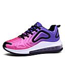 זול נעלי ספורט לנשים-בגדי ריקוד נשים נעלי אתלטיקה מטפסים בוהן עגולה בד גמיש ספורטיבי / יום יומי ריצה / הליכה קיץ / סתיו שחור / שחור לבן / כחול +ורוד