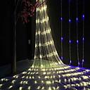 ราคาถูก สายไฟ LED-6 * 4 เมตร ไฟสาย 864 ไฟ LED ขาวนวล ตกแต่ง 220-240 V 1set