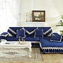 זול כיסויים-כריות ספה מכסה ספת פלנל משובצת באיכות גבוהה ועכשווית