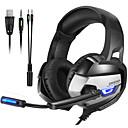 baratos Decorações para Casamento-Onikuma k5 gaming headset fone de ouvido estéreo baixo profundo fones de ouvido pc ps4 notebook com microfone mic