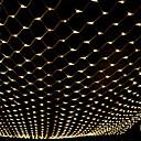 olcso LED szalagfények-3m * 2m 200 LED-es világítótestek függönyfényes fehérfehér fényszóró színes fél dekoratív összekapcsolható 220-240v 1db