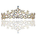 cheap Party Headpieces-Crystal / Alloy Headbands with Crystal 1 Piece Wedding / Special Occasion Headpiece