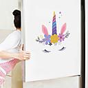 baratos Cinzeiros-adesivos de parede bonito dos desenhos animados - animal adesivos de parede animais / paisagem sala de estudo / escritório / sala de jantar / cozinha-e