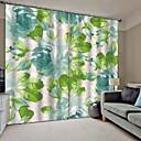billige 3D gardiner-varm fersk stil av høy kvalitet stoff gardiner soverom / kontor fortykket full skygge gardiner for vanntette, vanntette fuktsikker dusj gardiner