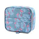 Χαμηλού Κόστους Βαλίτσες Καμπίνας-Πολυεστέρας Φερμουάρ Τσάντα χειραποσκευών Γεωμετρικά σχήματα Καθημερινά Σκούρο γκρι / Ουρανί / Ροζ / Φθινόπωρο & Χειμώνας