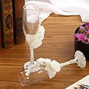 povoljno Svadbeni ukrasi-Reciklirani papir Nazdravljajući flaute Poklon kutija Plaža Teme / Vrt Tema / Vintage Tema Sva doba
