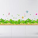 billige Veggklistremerker-Dekorative Mur Klistermærker - Fly vægklistermærker Arabesk / Blomstret / Botanisk Soverom / Innendørs