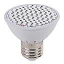 billige 3D Nattlamper-1pc 3.5 W 2500-3000 lm 102 LED perler Voksende lysarmatur Rød Blå 85-265 V Hjem / kontor Vegetabilsk drivhus