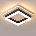 Χαμηλού Κόστους Ανώτατα φώτα οροφής-jsgylights γεωμετρικά φωτιστικά φωτισμού περιβάλλοντος φως βαμμένα φινιρίσματα μεταλλικά ακρυλικά νέο σχέδιο 110-120v / 220-240v ζεστό λευκό / λευκό