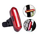 billige Speil-LED Sykkellykter Baklys til sykkel sikkerhet lys Fjellsykling Sykkel Sykling Vanntett Bærbar Advarsel Enkel å installere Li-ion Oppladbar Usb Rød Sykling - LITBest / IPX 6