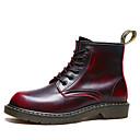 ราคาถูก รองเท้าบูตผู้ชาย-สำหรับผู้ชาย รองเท้าคอมแบท หนังเทียม ฤดูร้อนฤดูใบไม้ผลิ / ฤดูใบไม้ร่วง & ฤดูหนาว คลาสสิก / อังกฤษ บูท ไม่ลื่นไถล รองเท้าบู้ทหุ้มข้อ ไล่โทนสี สีดำ / สีน้ำตาล / ไวน์ / กลางแจ้ง