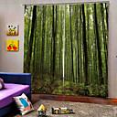 billige Christmas Stickers-kinesisk stil natur utsikt gardin 3d-utskrift fortykning solkrem 100% polyester gardin stue og soverom stoff gardin