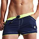 povoljno Slike ljudi-Muškarci Kupaće hlačice Swim Trunks Spandex Surferske hlače Prozračnost Anatomski dizajn Vezica - Plivanje Ronjenje Surfanje Kolaž Ljeto / Rastezljivo