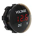 billiga Billaddare för mobilen-dc12v vattentät och dammtät voltmeter digital display för lastbils motorcykel suv