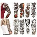 Χαμηλού Κόστους αυτοκόλλητα τατουάζ-8 pcs προσωρινή Τατουάζ Φιλικό προς το περιβάλλον / Μιας χρήσης Σώμα / brachium / πίσω Χάρτινη Κάρτα