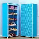 billige Kjøkkenverktøy Tilbehør-Plast og Metall / Ikke Vevet Rektangulær Kreativ / Bære / Nytt Design Hjem Organisasjon, 1set Skohyller / Skoposer