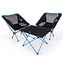Χαμηλού Κόστους Μαγειρικά Σκεύη Κατασκήνωσης-BEAR SYMBOL Camping Πτυσσόμενο τραπέζι με καρέκλες Φορητό Αντιολισθητικό Πολύ Ελαφρύ (UL) Πτυσσόμενο Oxford Πανί 7075 Αλουμίνιο Mesh 2 καρέκλες 1 Πίνακας για Ψάρεμα Κατασκήνωση Φθινόπωρο Άνοιξη