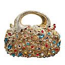 Χαμηλού Κόστους Μοδάτα Σκουλαρίκια-Γυναικεία Κρυστάλλινη λεπτομέρεια / Με Τρύπες Κράμα Βραδινή τσάντα Ζώο Χρυσό / Φθινόπωρο & Χειμώνας