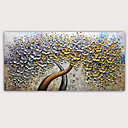 baratos Pinturas Abstratas-Pintura a Óleo Pintados à mão - Abstrato Famoso Clássico Modern Sem armação interna