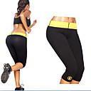 Χαμηλού Κόστους Σετ τσάντες-Γυναικεία Παντελόνι για γιόγκα Συμπαγές Χρώμα Τρέξιμο Fitness Γυμναστήριο προπόνηση 3/4 Καλσόν Ρούχα Γυμναστικής Αναπνέει Ύγρανση Γρήγορο Στέγνωμα Αντίστροφη καρότσα Ελαστικό Λεπτό