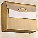 זול מוטות למגבות-מחזיק נייר טואלט יצירתי מודרני פליז 1pc מותקן על הקיר
