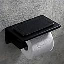baratos Prateleiras de Banheiro-Suporte para Papel Higiênico Criativo Moderna Aço Inoxidável 1pç - Banheiro Montagem de Parede