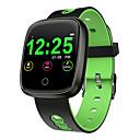 billige Veggklistremerker-df03 smart klokke oled fargeskjerm smartwatch menn kvinner mote band aktivitet fitness tracker hjertefrekvensmåler smart armbånd