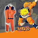 ราคาถูก วิกผมจริง-แรงบันดาลใจจาก Naruto Naruto Uzumaki การ์ตูนอานิเมะ คอสเพลย์และคอสตูม ญี่ปุ่น ชุดคอสเพลย์ ลายต่อ แขนยาว เสื้อโค้ท / กางเกง สำหรับ สำหรับผู้ชาย / สำหรับผู้หญิง