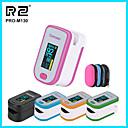 billige Målere og detektorer-pro-m130 + pose alle farger finger puls oximeter, hjerteslag på 1 min metning monitor puls hjertefrekvens blod oksygen ce godkjenning