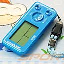 Χαμηλού Κόστους Ηλεκτρονικός εξοπλισμός για τρέξιμο-SP500 Ηλεκτρονικό βηματόμετρο άλλες OS Για Υπαίθρια Χρήση / Τηλέφωνο λουράκι / Βηματόμετρα Αισθητήρας Βαρύτητας PP+ABS / Νεοπρένιο / PC Θαλασσί / Αγνό Λευκό