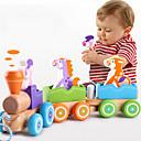 billige Sammenkoblede blokker-Sammenlåsende blokker Tog Lindrer ADD, ADHD, angst, autisme Foreldre-barninteraksjon Tog Bil 3 pcs Barne Alle Leketøy Gave