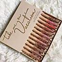 baratos Palmilhas-1 pcs 12 cores Maquiagem para o Dia A Dia Design Moderno / Fácil de transportar / Feminino Mate Longa Duração / Casamento / Casual Glamoroso & Dramático / Fashion Maquiagem Cosmético Artigos para
