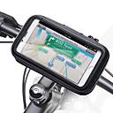 billige Bensinsystemer-motorsykkel styret telefon holder glidelås lomme vanntett pu skinn tilbehør