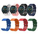 billige Smartwatch Bands-Klokkerem til Huawei Watch GT / Watch 2 Pro Huawei Sportsrem / Klassisk spenne Silikon Håndleddsrem