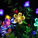 זול חוט נורות לד-lende 2m 20 פנסים דובדבן מחרוזת אורות סוללות מופעל חג המולד פסטיבל קישוט בחוץ חוצות תאורה חוצות דקורטיביים